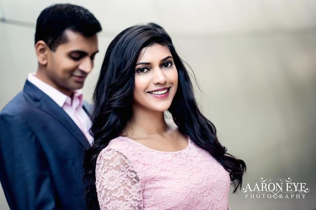 6 indian engagement session portrait