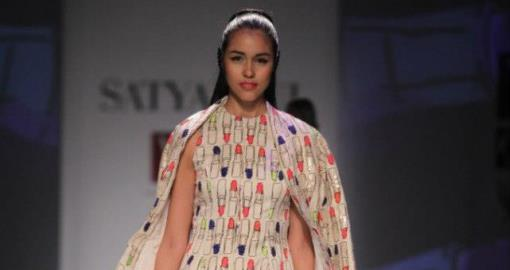 Indian Wedding Fashion from WIFW 2013 by Masaba for Satya Paul