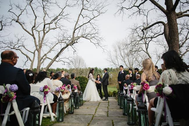 11a indian wedding outdoor ceremony