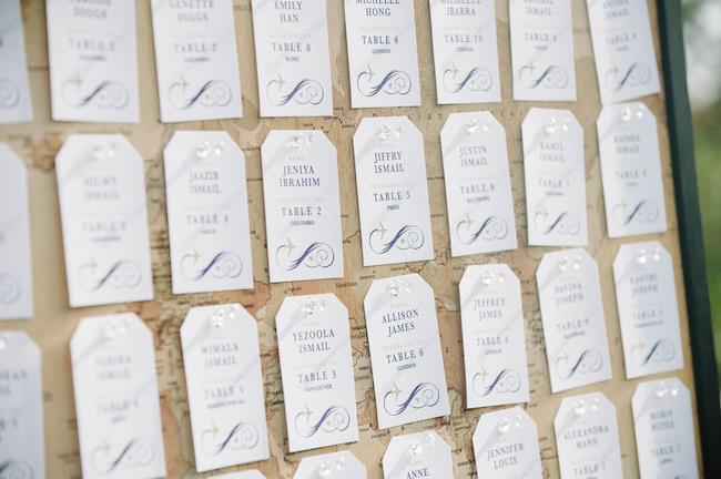 28a indian wedding escort cards