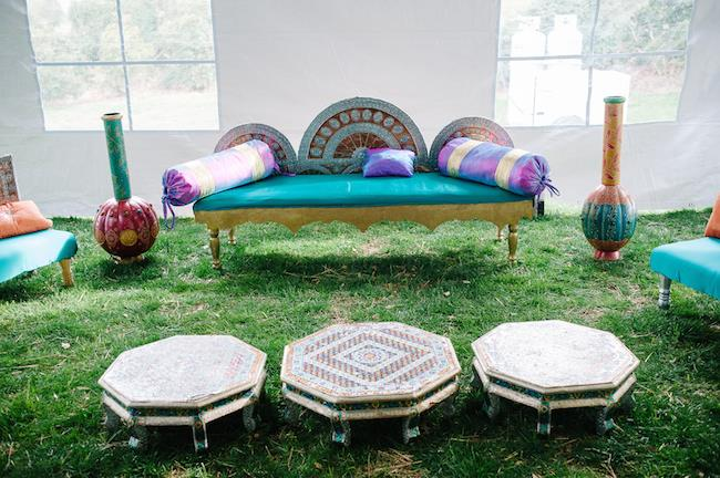 34a indian wedding outdoor seating