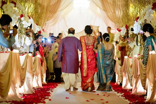 10a indian wedding aisle ceremony