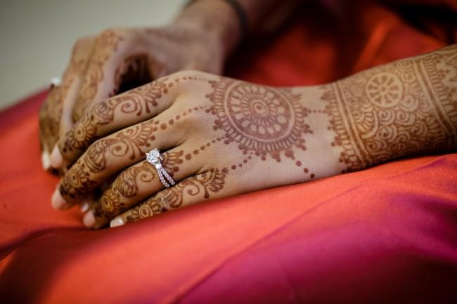2a Indian Bridal Mehndi and ring