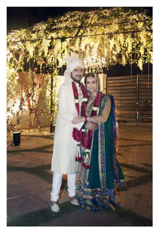 10 Dia Mirza wedding