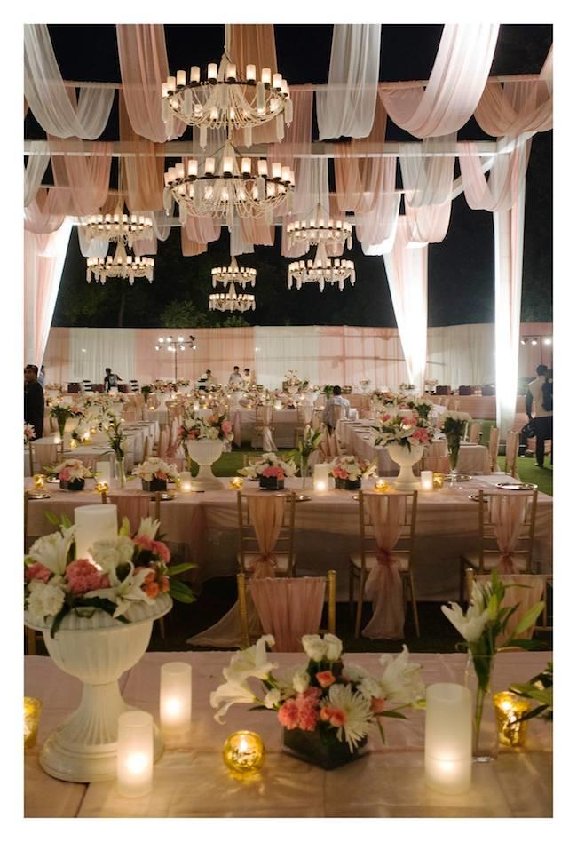10a Dia Mirza reception decor