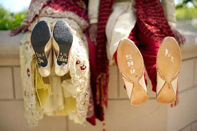 36a indian wedding shoes