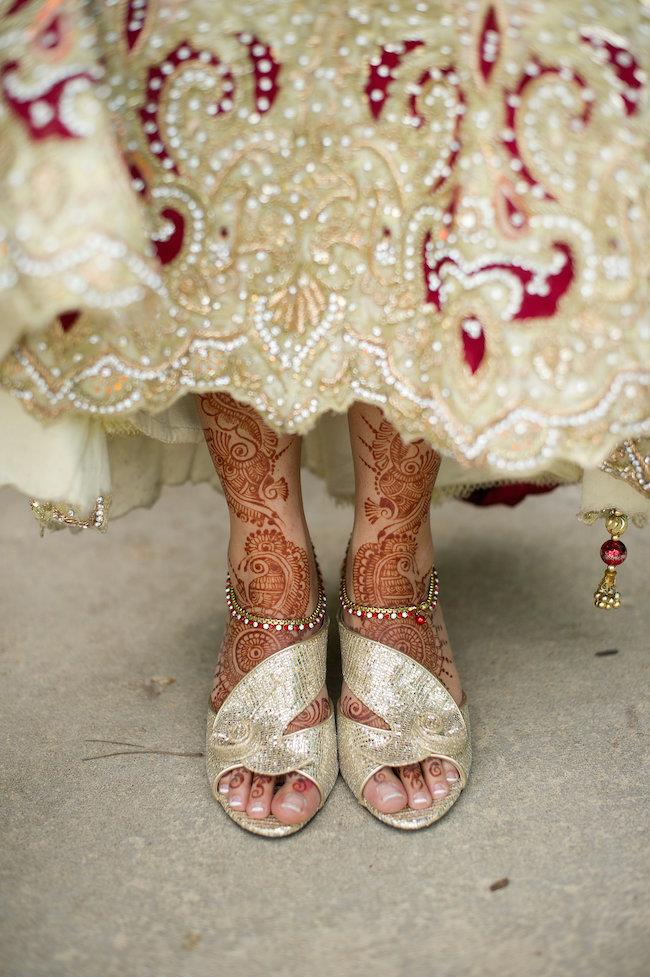 40a indian wedding shoes