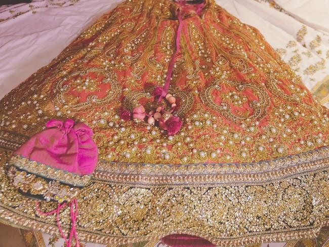 16a indian wedding lengha