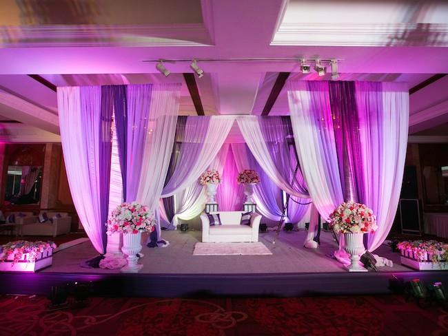 23a indian wedding reception decor