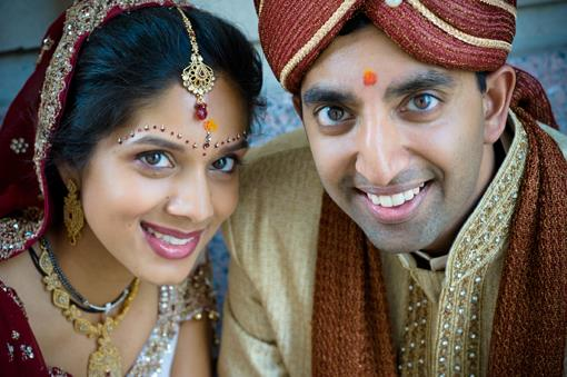 Traditional Indian Wedding Portraits by Crimson Blu - 2