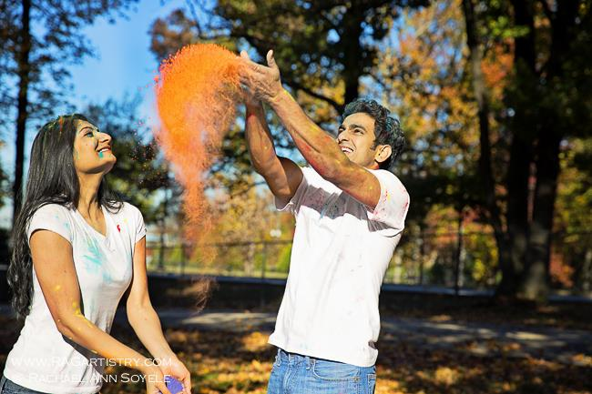 8aholi powder indian engagment session