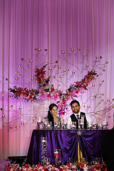 indian-wedding-bride-and-groom-sweetheart-table