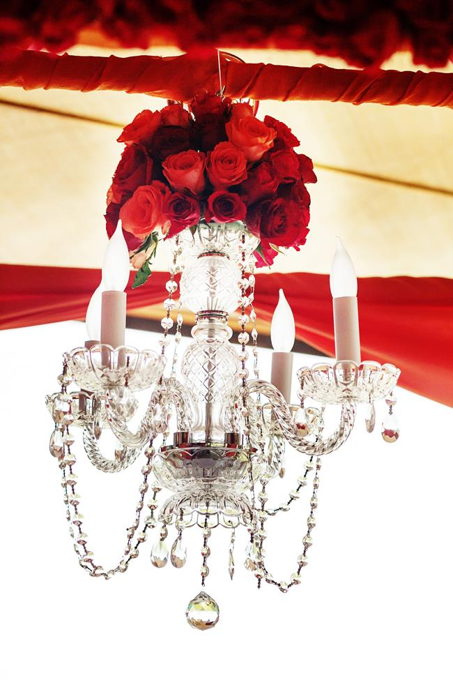 43a indian wedding chandelier