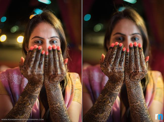 2a Indian wedding mehndi